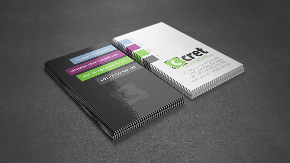 Ccret (Business Cards 2010)