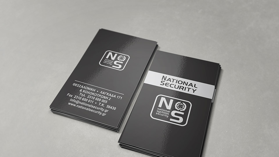 National Security (Business Cards 2010)