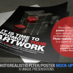 Photorealistic Flyer/Poster Mock-Up